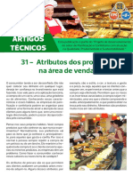 Artigo Técnico 31 - Atributos Dos Produtos