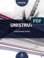 Unistrut Seismic Bracing