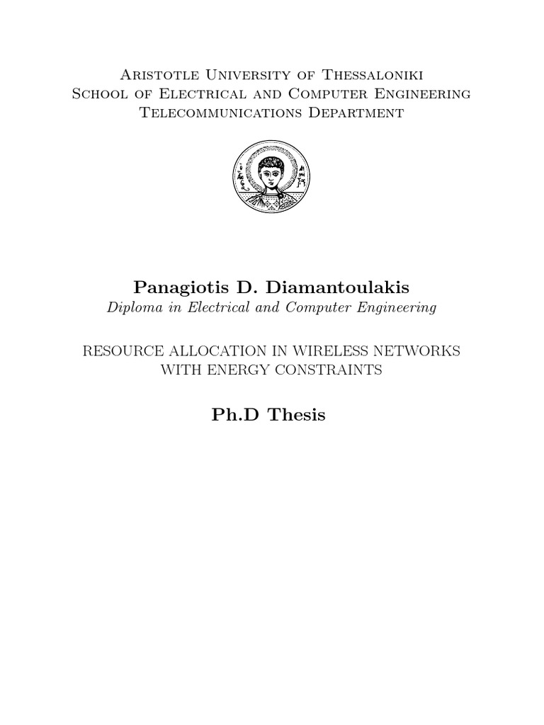 Phd thesis in electrical engg