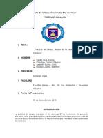 Informe de Biologia LA HUACA - Paita