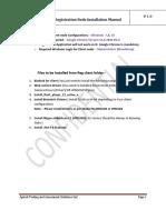 Registration Node Installtion Setup Manual_cmat
