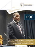 High Level P Report South African Parliament 2017