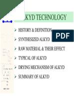 Presentation of ALKYD