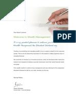 Standard Chartered Wealth Management Pack