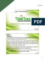 TimeTrax Presentation