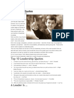 Great Leadership Quotes PDF