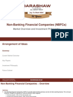 NBFC Market Overview and Investment Philosophy