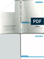 Hioki 8804 User Manual