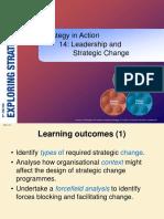 Leadership & Strategic Change Yona