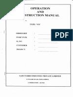 Vo Operation & Insruction Manual