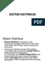 Sistem Distribusi Listrik
