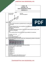 NCERT Solutions Class 6 Mathematics Basic Geometrical Ideas