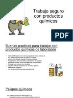 Trabajo Seguro Con Productos Químicos-Organica