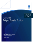 TSE - Design of Floors for Vibration