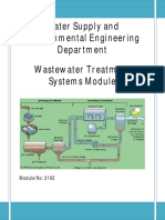 Wastewater Treatment Lecture Material