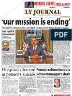 0901 issue of the Daily Journal