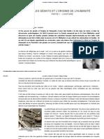 Les Géants Et l'Origine de l'Humanité - Guillaume Delaage[1]