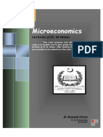 Microeconomics Notes by DR Idrees QAU Islamabad