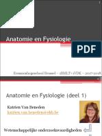 Anatomie_°1°Inleiding + Weefsels