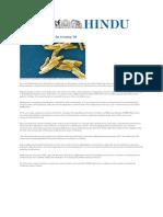 Hindu 14092015-New Therapeutic Avenues-TB