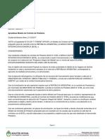 Dectreto Boletin Oficial