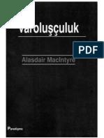 Varolusculuk - Alasdair MacIntyre