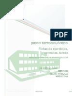Juego Metodológico- Investigación- Ficha 1-4