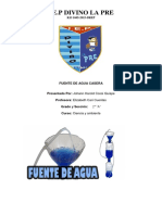 Fuente de Agua Casera