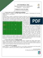 Programma Tecnico 1 Raduno Fun Football