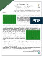 Programma Tecnico 3 Raduno Fun Football
