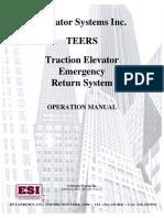 Teers Manual