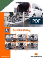 Dhollandia Plataforma Para Acessibilidade Plataforma Para Acessibilidade de 350 Kg 668562