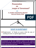 Basics on Investments