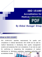 Required documents for ISO 15189 Certification