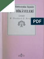Çin Hikayeleri (Çev. W. Eberhard&H. Boratav)