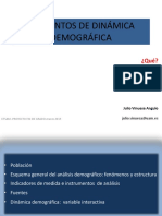 Elementos de Dinamica Demografica