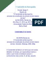Reseña de O Candomblé Da Barroquinha