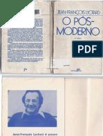 LYOTARD, Jean-François. O Pós-Moderno.pdf