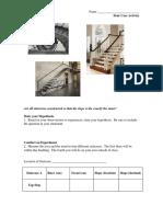 stair case activity