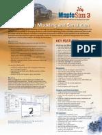 MapleSim Datasheet V