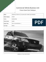 Catalogo Tata Xenon 2.2