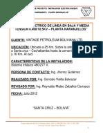 Informe Nuevo Campamento Planta Naranjillos