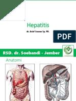 Kuliah 6 - Penyakit Hepatobiler Hepatitis (dr. Arif).pptx