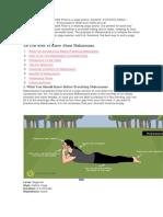 Yoga Para Las Rodillas