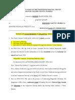 "Notice of Unauthorized & Unlawful ""09/02/2010 hearing"""