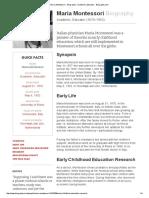 Maria Montessori - Biography - Academic, Educator - Biography.pdf