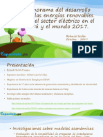 Presentación - Panorama Del Sector Renovable Perú 2017
