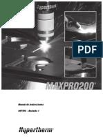 Maxpro200 Manual de Instrucción