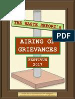 Festivus Waste Report 2017