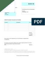 Modele Devis Excel